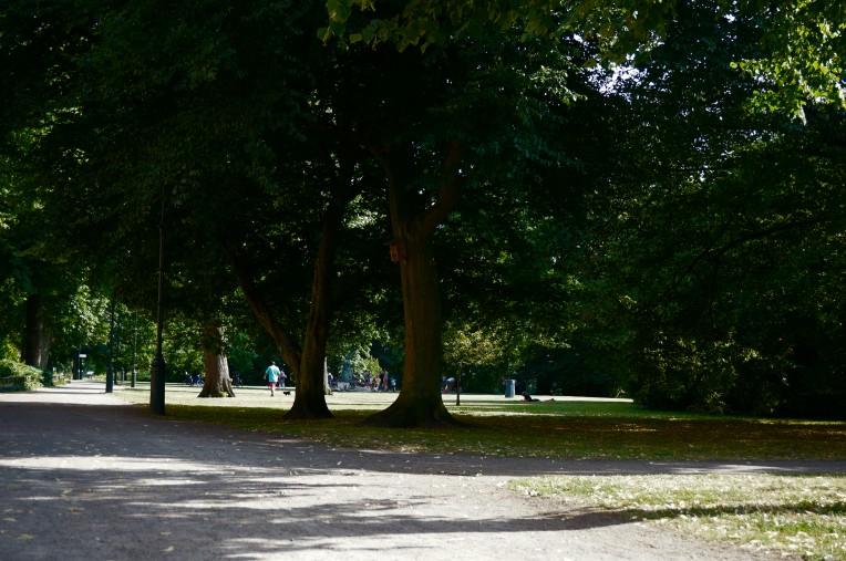 Grön promenad